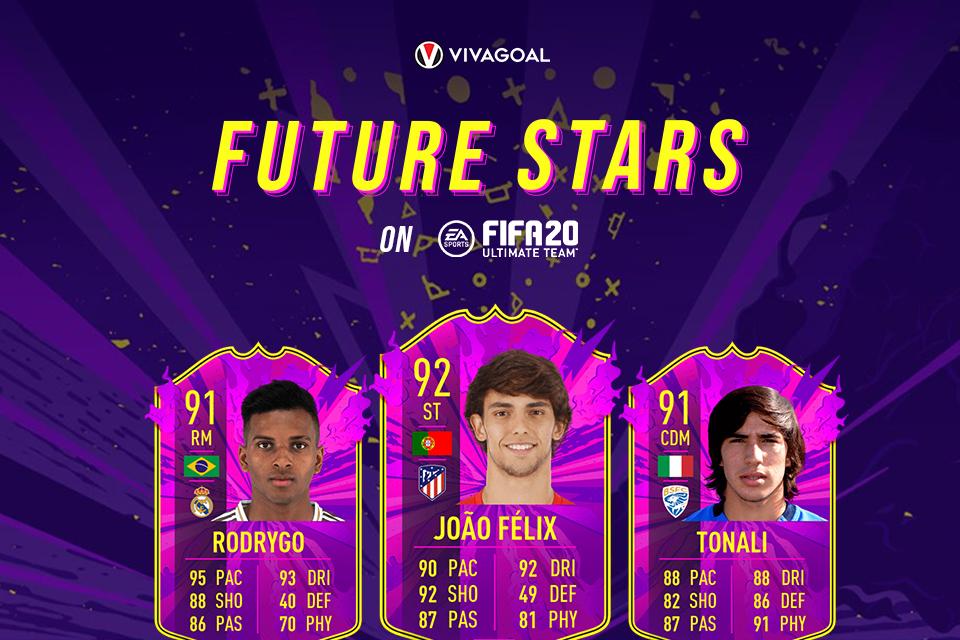 Deretan Wonderkid yang Masuk ke dalam Future Stars di FIFA 20 FUT