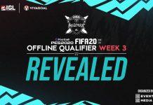 Hasil Offline Qualifier Minggu Ketiga FIFA 20 & eFootball PES 2020 IGL