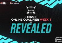 Inilah Empat Nama yang Lolos di FIFA 20 Online Qualifier Minggu Pertama