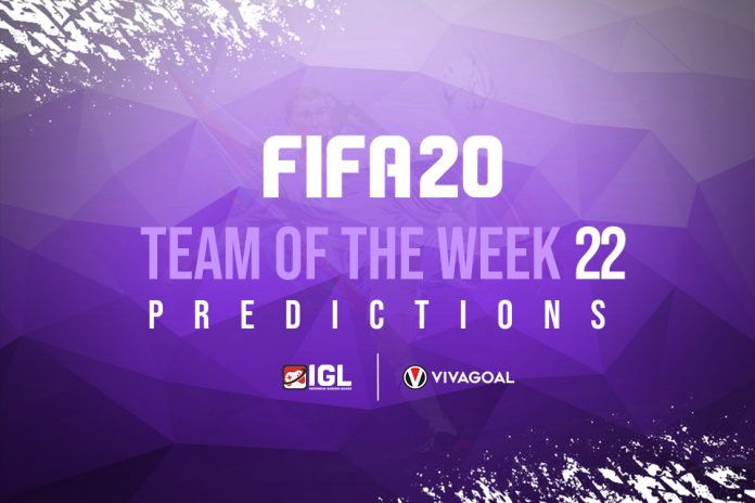 Prediksi Team of the Week Pekan ke-22 di FIFA 20
