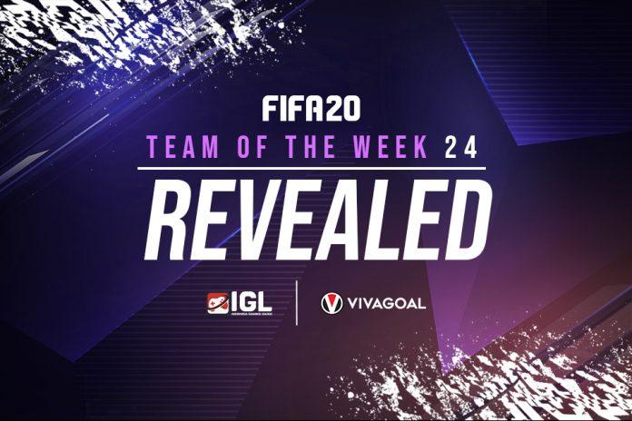 Nama Besar yang Merajai Team of the Week Pekan ke-24