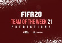Prediksi Team of the Year Pekan ke-21 di FIFA 20
