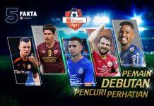 5 Debutan Shopee Liga 1 2020