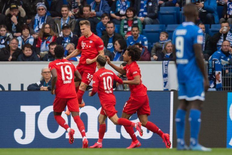 Tanpa Lewandowski, Bayern Munchen Pesta Gol di Kandang Hoffenheim