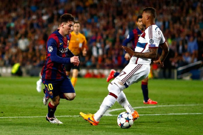 Boateng Messi