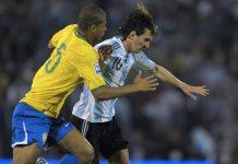 Felipe Melo dan Messi