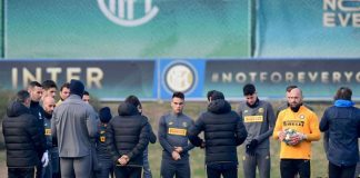 Inter Persilahkan Para Pemain Kembali Gunakan Pusat Latihan