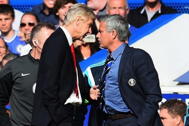 Tak Kunjung Menang, Mourinho Kena Karma dari Arsene Wenger
