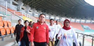 Ketum PSSI dan Pemkab Bogor tinjau Pakansari PD U-20 2021