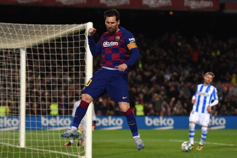 Eto'o Pastikan Masa Depan Lionel Messi  Bersama Barcelona