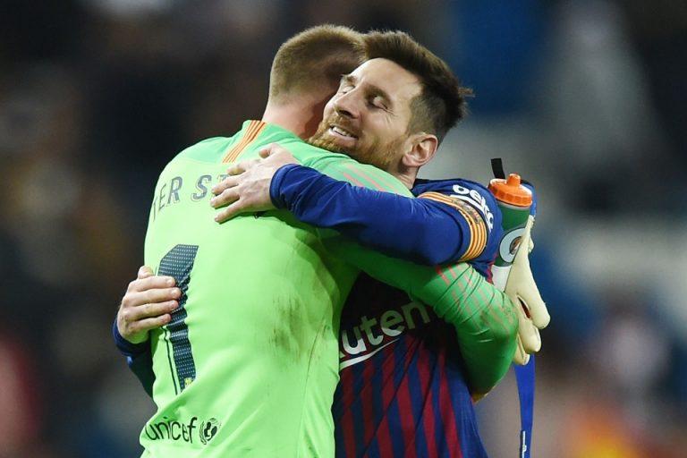 Alasan Ter Stegen Belum Layak Diberi Gaji Sebesar Messi