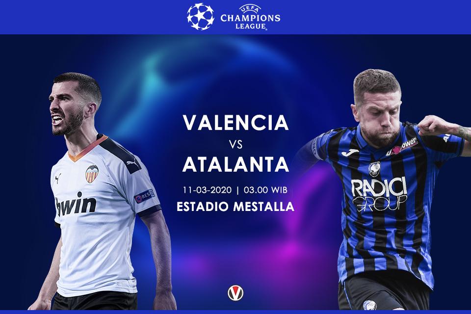 Prediksi Valencia Vs Atalanta Tuan Rumah Harapkan Magis Mestalla