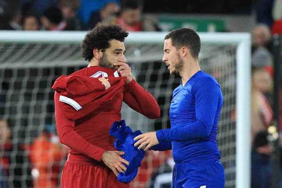 Real Madrid Ingin Tukar Tambah Eden Hazard dan Mohamed Salah