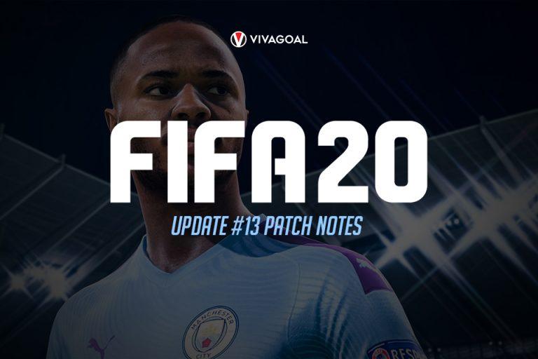 Rincian Update FIFA 20 Pitch Note #13