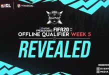 Pemenang Offline Qualifier FIFA 20 dan Efootball PES IGL Minggu Kelima
