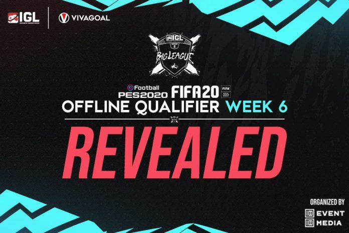 Rekap Offline Qualifier FIFA & PES IGL Minggu ke-6