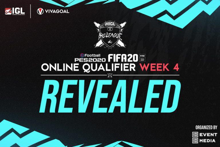 Pemenang Online Qualifier IGL untuk game eFootball PES dan FIFA 20