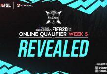 Pemenang Online Qualifier IGL Minggu Keempat FIFA & PES 2020