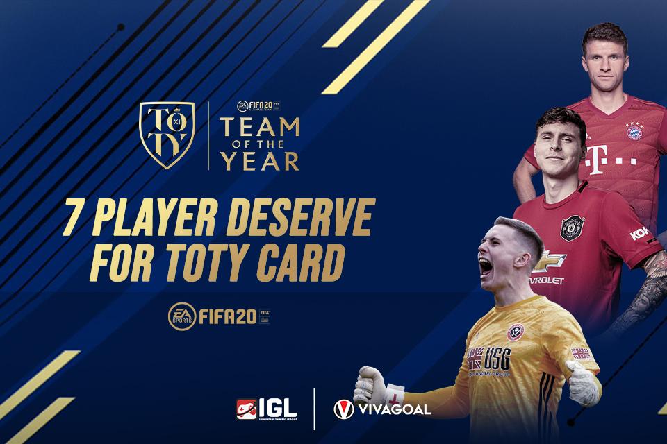 7 Pemain Off the Radar yang Layak Masuk ke dalam Team of the Year FIFA 20