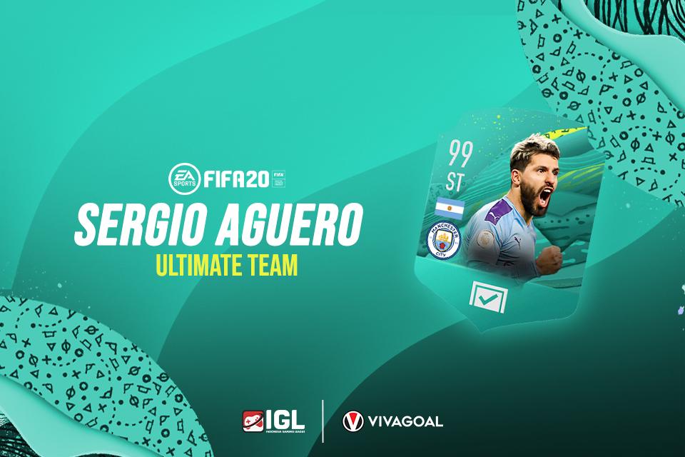 FIFA 20 Ultimate Team Milik Aguero Disesaki Pemain Argentina