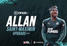 Bintang Newcastle Dapatkan Upgrade Signifikan di FIFA 20