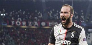 Ayah Higuain Tegaskan Anaknya Tetap Berseragam Juventus Musim Depan