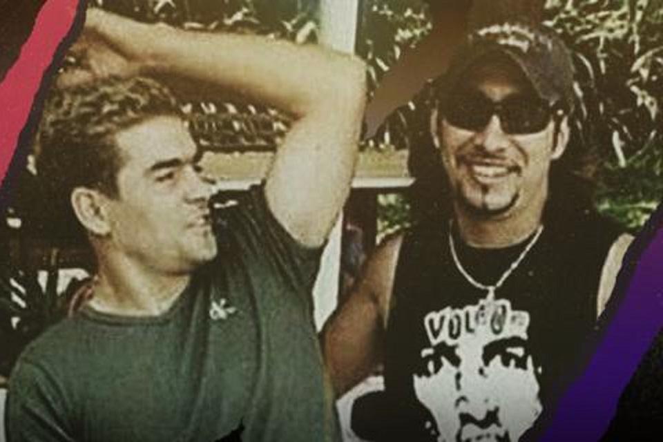 Cristian Gonzales dan Oscar Aravena