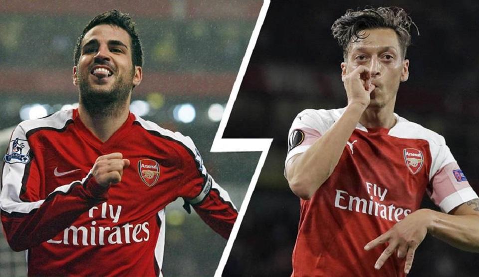 Fabregas dan Ozil