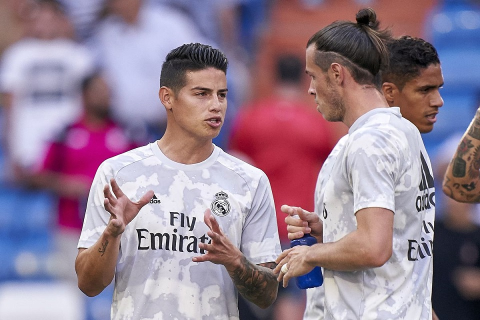 Gareth Bale dan James Rodriguez