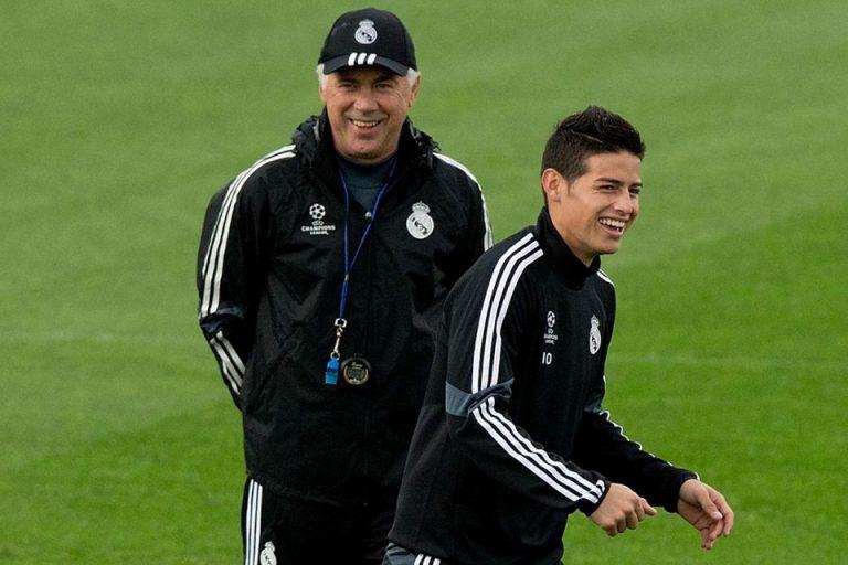 James Rodriguez Buka Kans Reunian Dengan Ancelotti