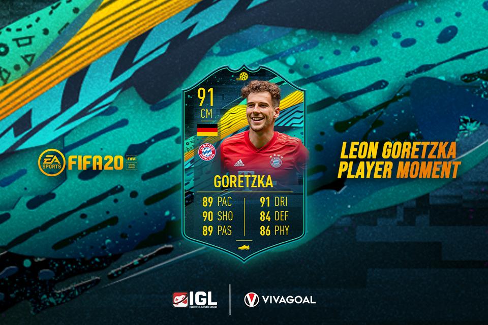 Leon Goretzka Punya Card Baru dengan Stats Fantastis di FIFA 20