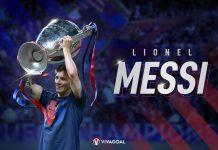 Lionel Messi Liga Champions