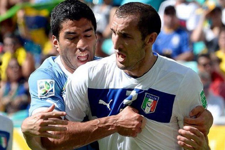 Gigitan Luis Suarez ke Chiellini Harus Dicatat Dalam Tinta Emas Sepakbola Uruguay