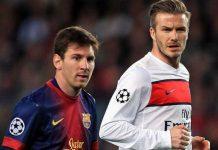 Beckham Messi