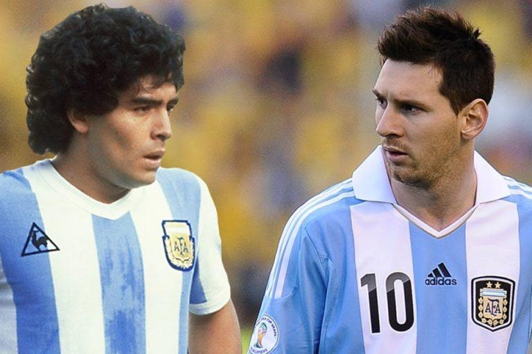 Messi Resmi Lewati Maradona Sebagai Pemain Terbaik Sepanjang Masa!