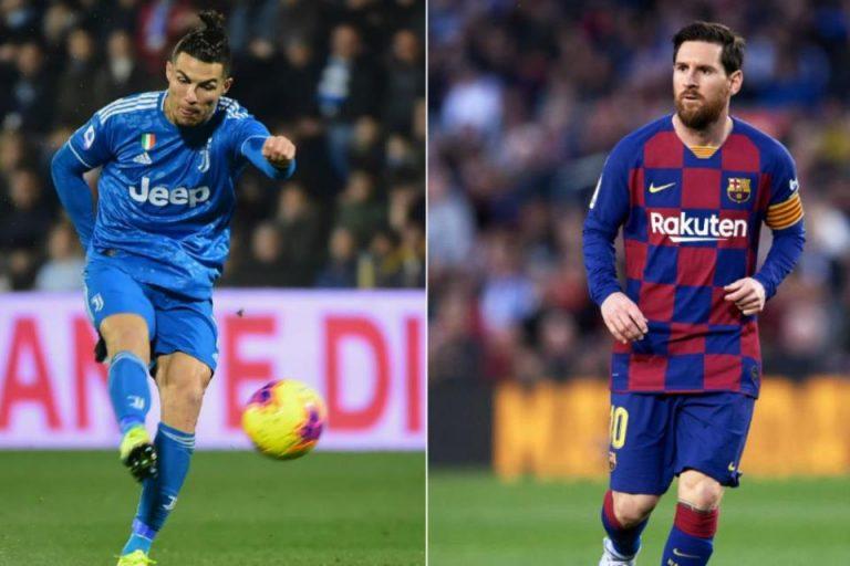 Ronaldo Beda Level dengan Messi