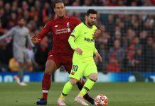 Pemain Paling Sulit Dihadapi, Van Dijk Pertama Messi, Kedua Aguero