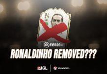 FIFA 20 Bakal Mencoret Ronaldinho dari Icon Player?