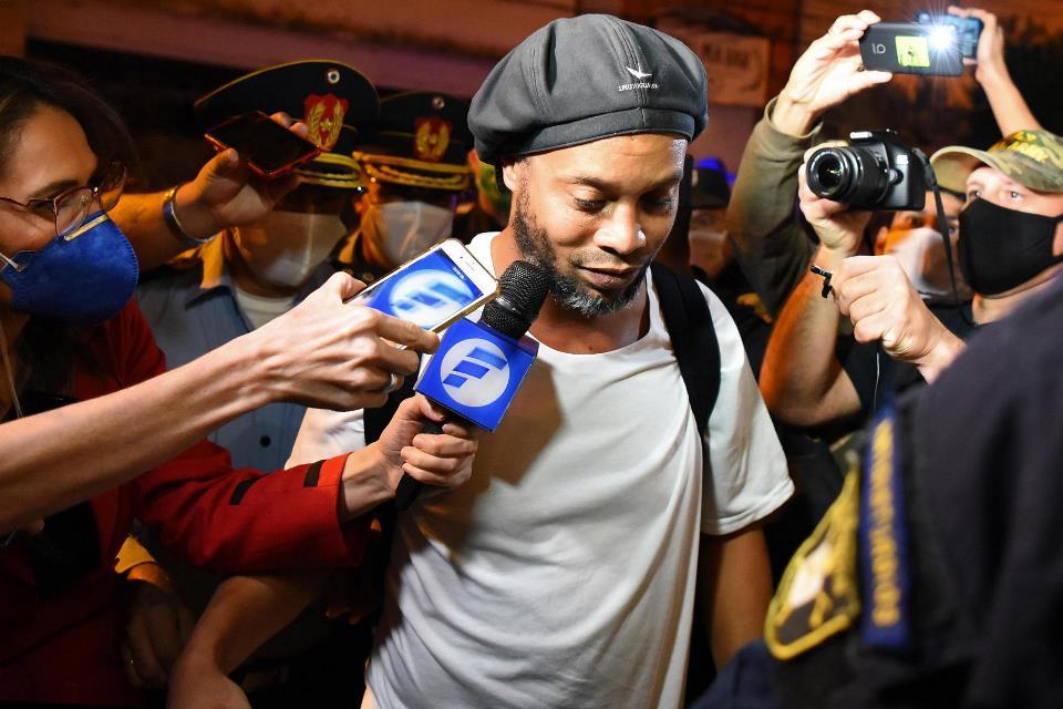 Rahasia Ronaldinho untuk Tetap Tegar di Penjara