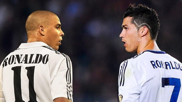 Ronaldo da Lima dan Cristiano Ronaldo