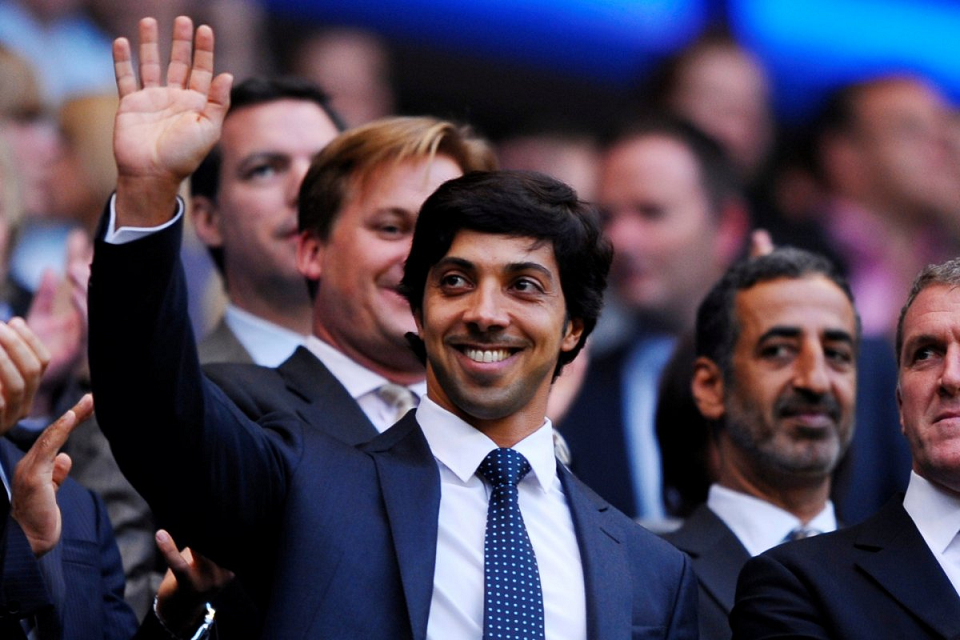 Sheikh Mansour Bos Manchester City