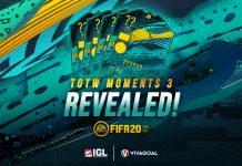 Player off the Radar Masuk dalam Team of the Week Moment 3 FIFA 20