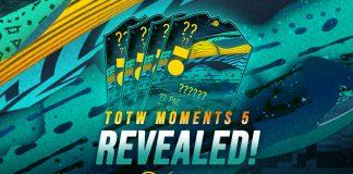 TOTW Moment 5 Sematkan Berbagai Top Player
