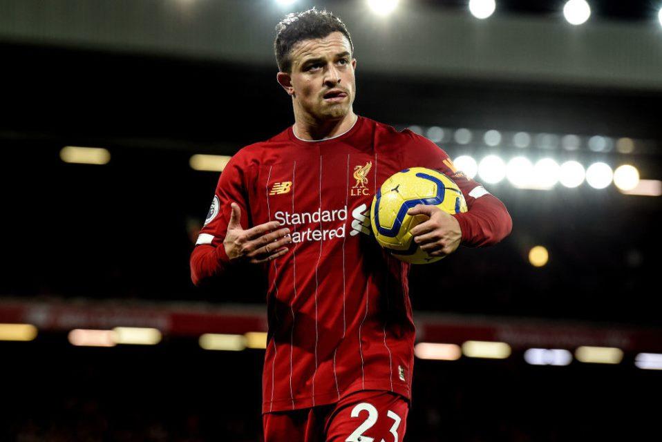 Tinggalkan Anfield, Shaqiri Segera Berlabuh ke Sevilla