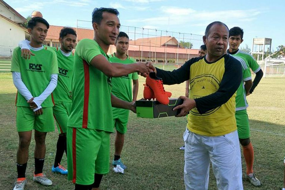 Tradisi Gelandang Persiraja Banda Aceh Sambut Puasa Pertama