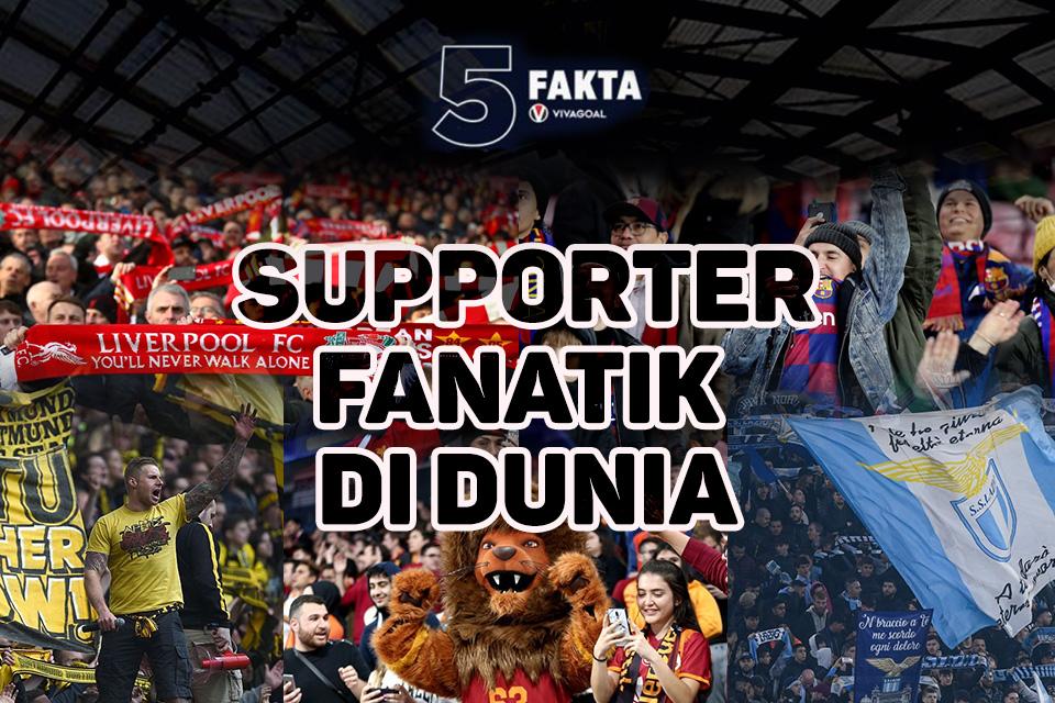 5 suporter fanatik
