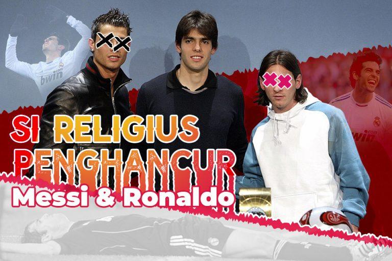 Ricardo Kaka: Si Religius Penghancur Messi-Ronaldo di Ballon d'Or