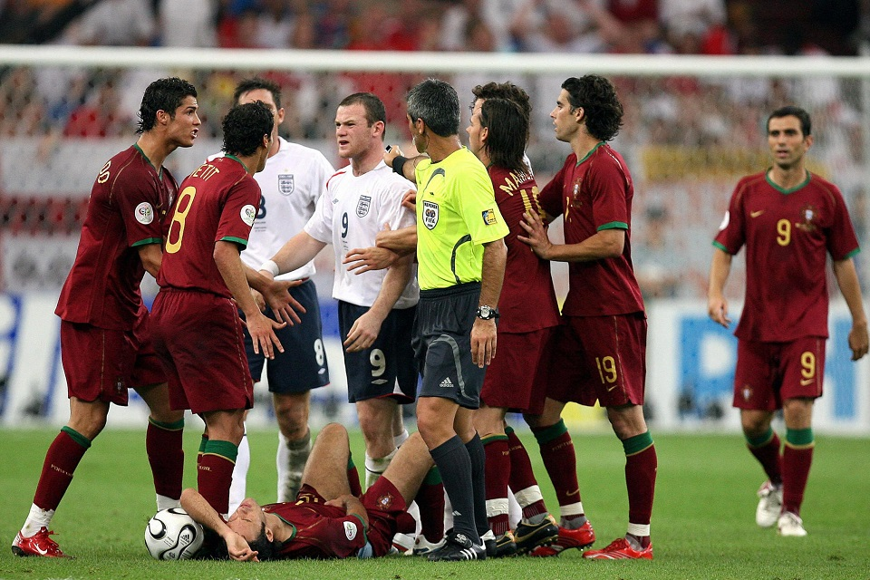 rooney ronaldo world cup 2006