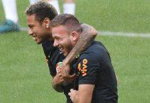 Arthur Melo dan Neymar