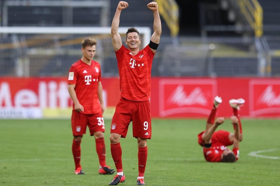 Hancurkan Dusseldorf, Bayern Kokohkan Posisi di Klasemen Bundesliga